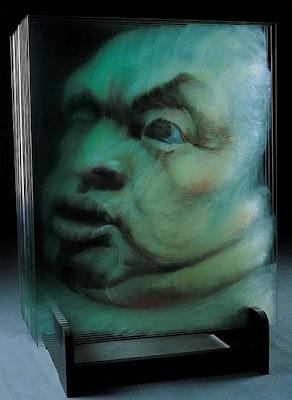 Pinturas 3D sobre vidrio - 6