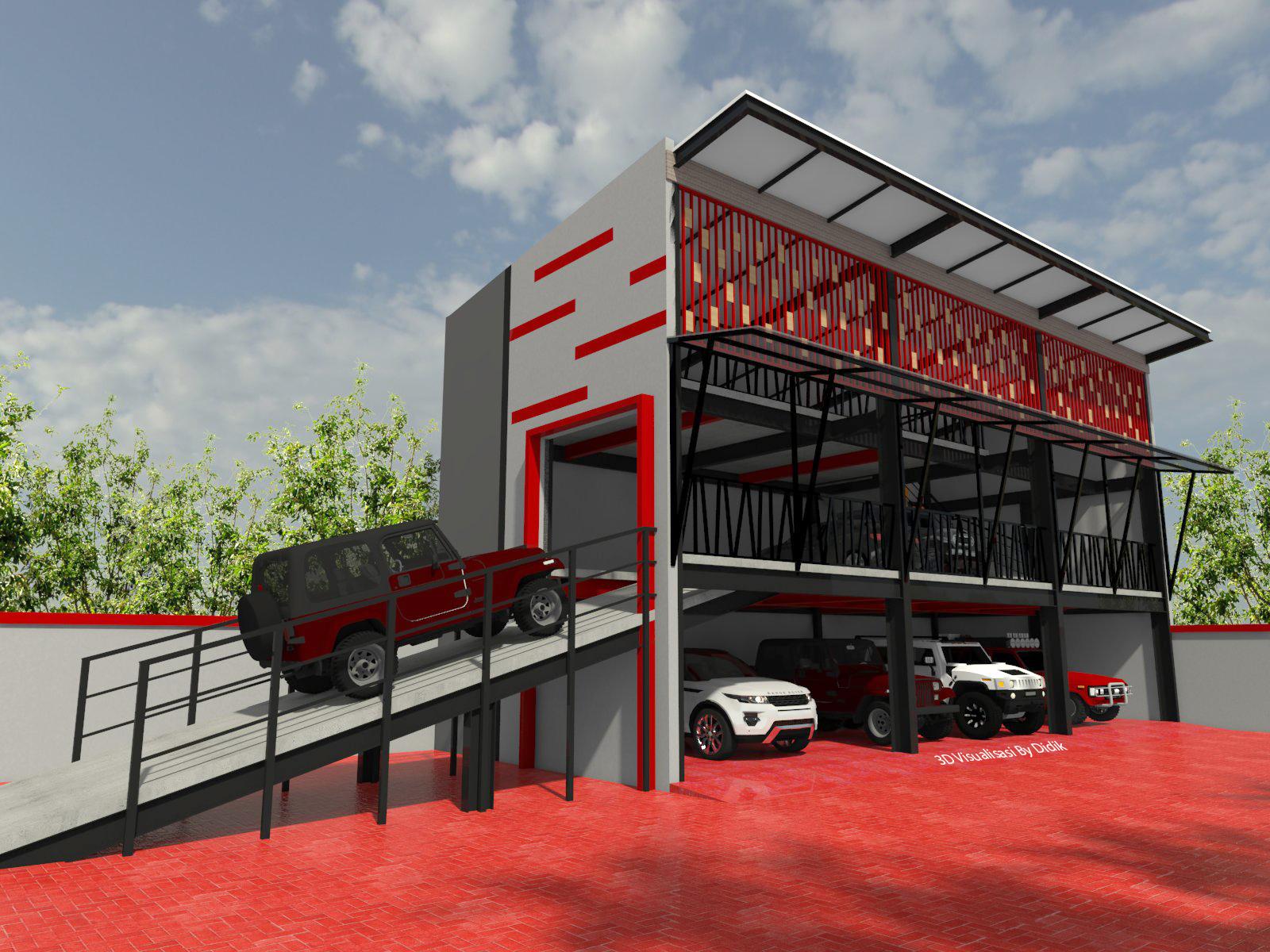 Desain Parkir Mobil