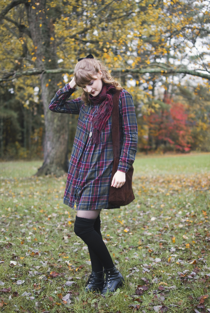 The Flying Clubhouse: Berry Stained | fall outfit