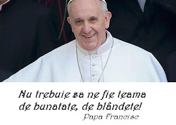 Papa Francisc. Clik pe fotografie