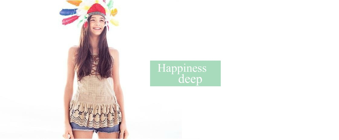 Happiness deep.