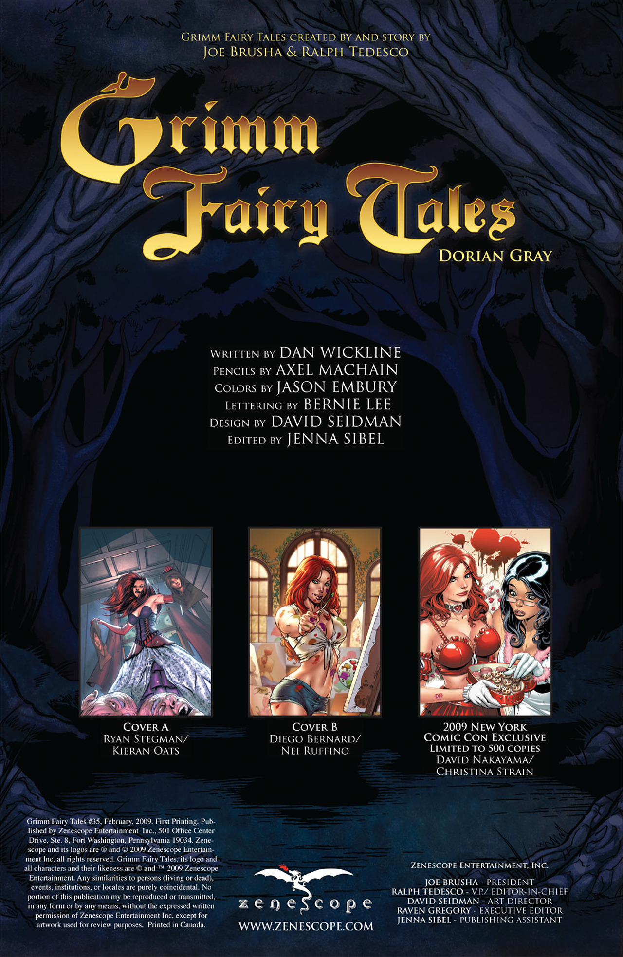Grimm Fairy Tales (2005) Issue #35 #38 - English 2