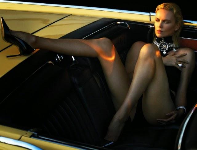 Charlize Theron W Magazine