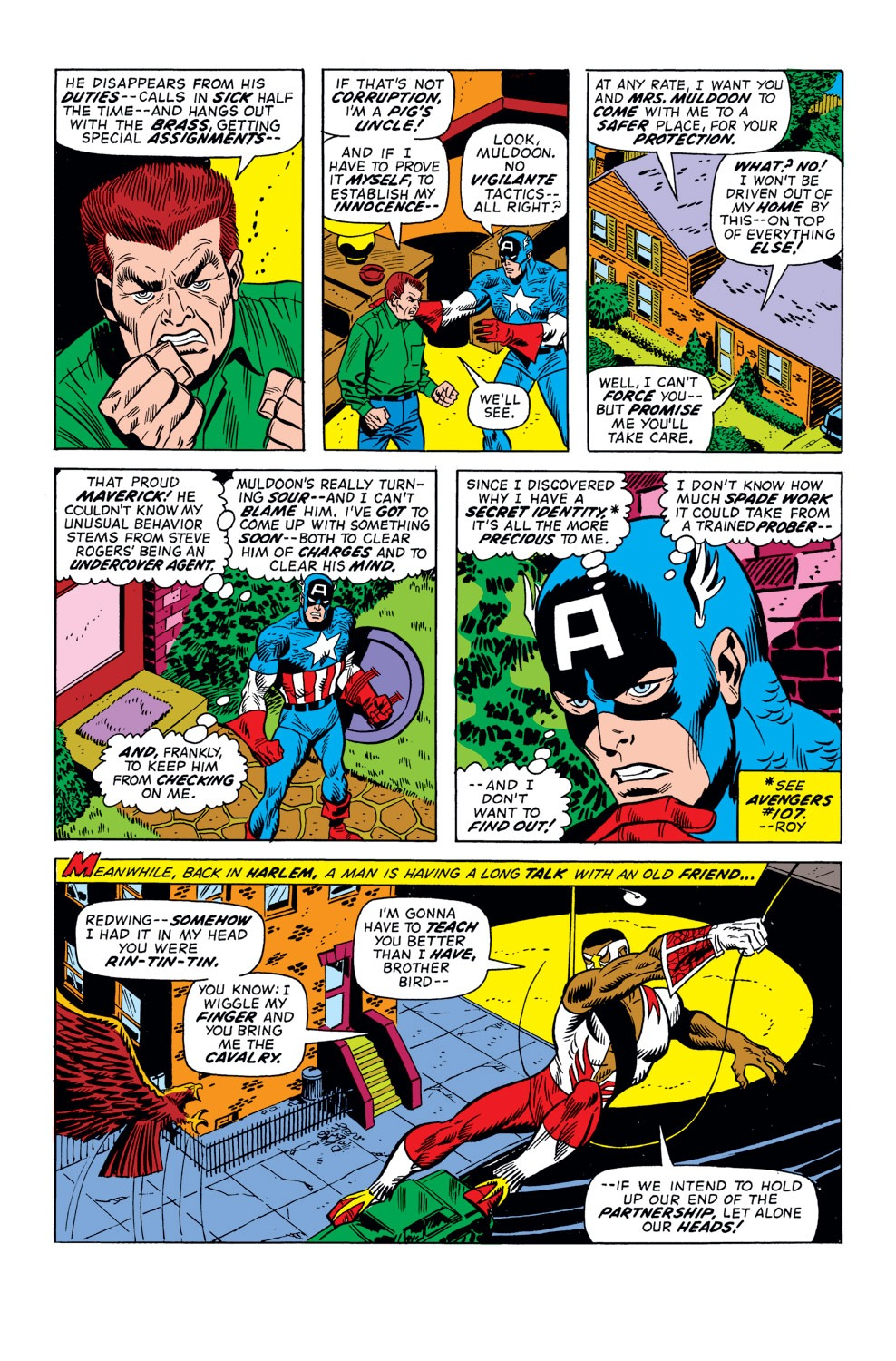 Captain America (1968) Issue #158 #72 - English 7