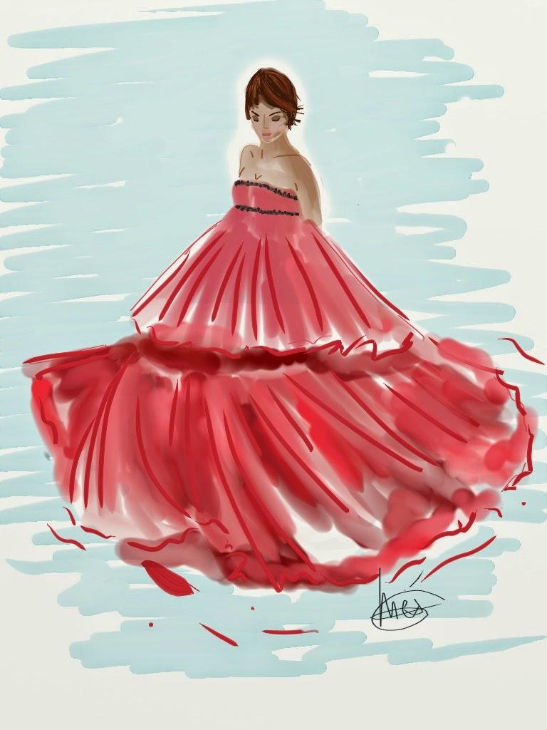 Una ilustración a la semana 7 -> Rihanna\'s cupcake | Chez Agnes