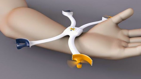 سوار إلكتروني يتحول إلى طائرة بدون طيار
