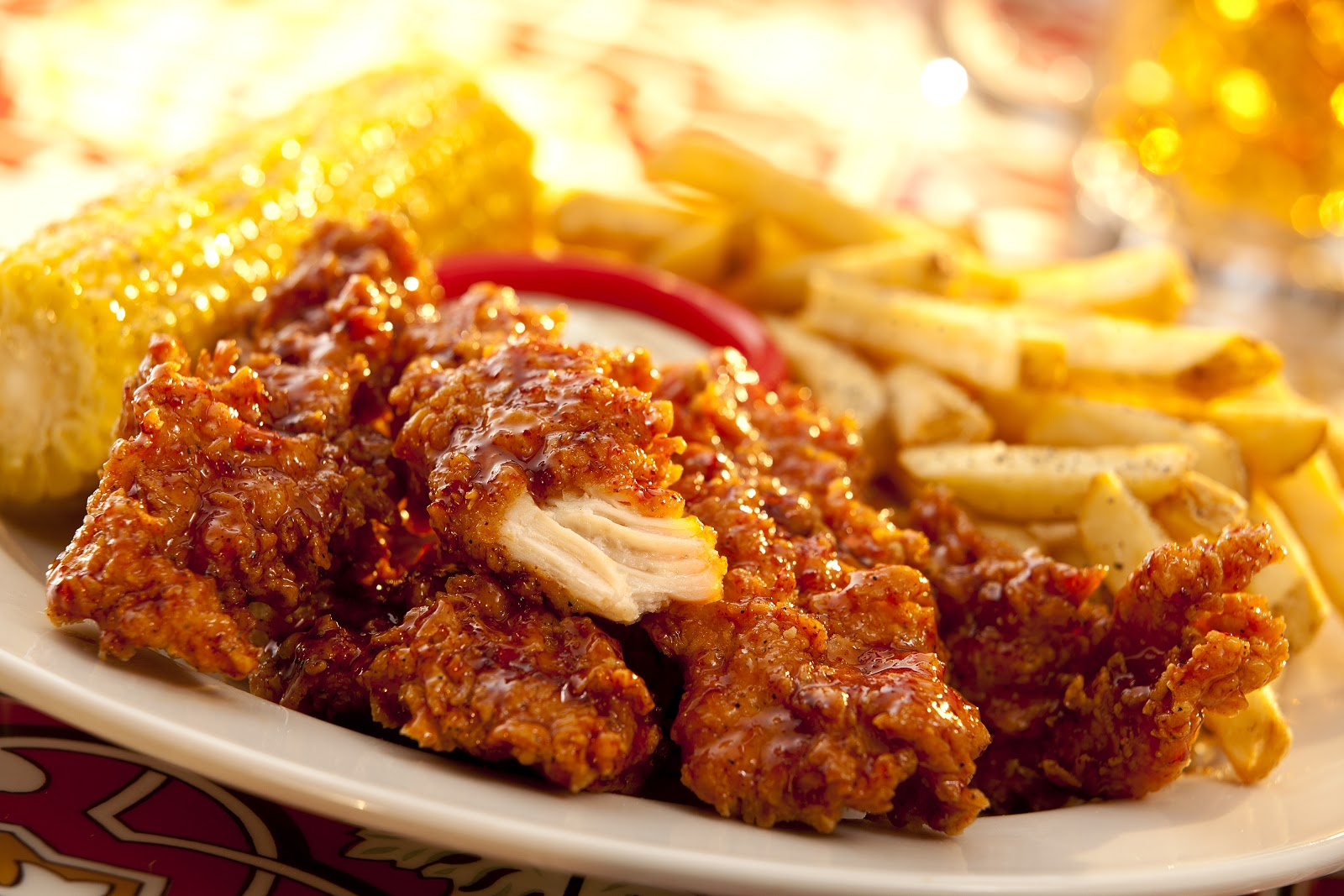 Honey Chipotle Chicken Crispers at Chili's.