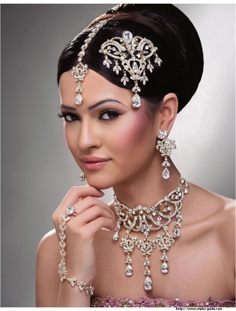 Wedding Hair Jewellery : Bridal makeup tips and ideas beauty style