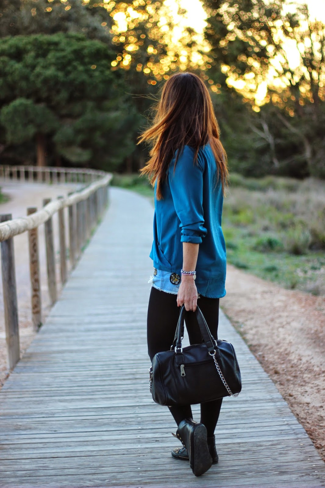 Streetstyle - fashion blogger -sheinside - Pepe Moll bags - Buffalo London Sneaker