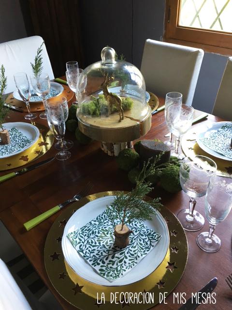 Decoracion mesa de navidad 2015 - Decorar mesa navidad ...