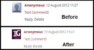 Default Avatar/Profile Picture In Blogger Threaded Comments
