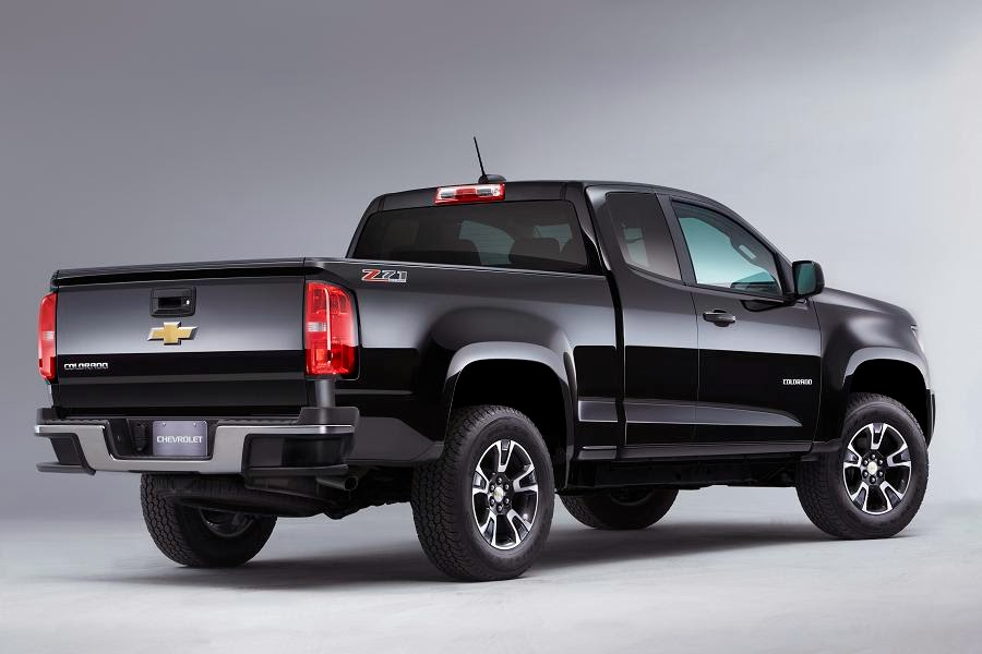 2015 Chevy Colorado Extended Cab