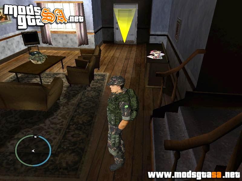 SA - Skin Soldado do Exército Brasileiro HD