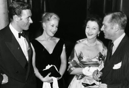 Osborne, Mary Ure, Vivien Leigh and Olivier