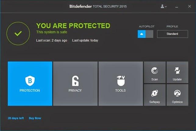 Free Download Bitdefender Total Security 2015 Full Version