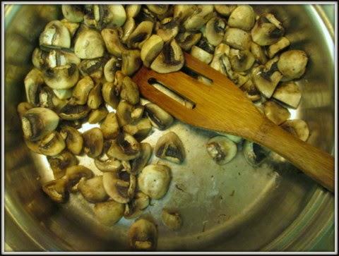 dry saute mushrooms