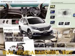 Interior Mobil All New Honda CRV