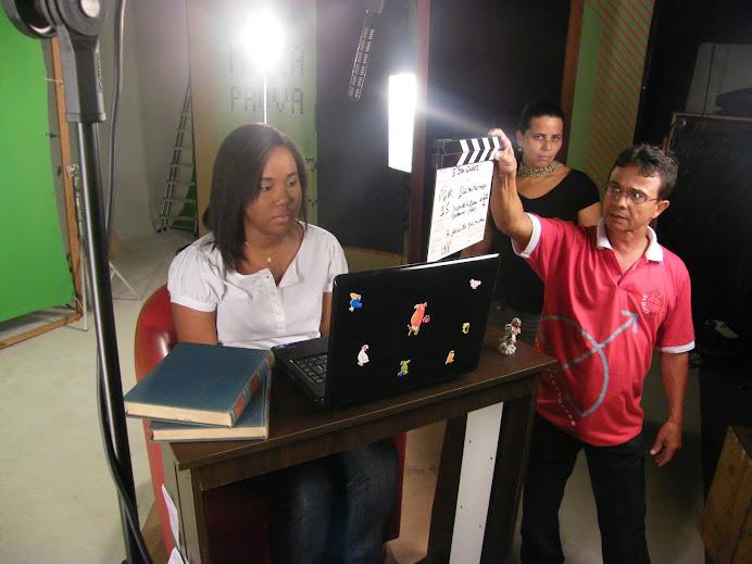 Victoria Matos também está gravando para TVE