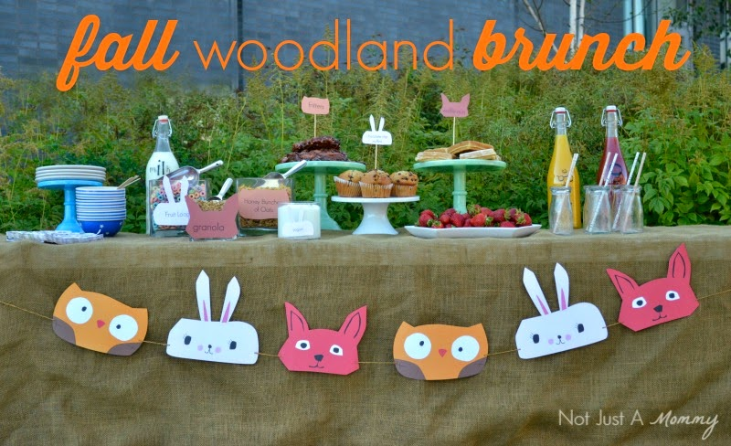 Simple Woodland-Themed Brunch for Fall