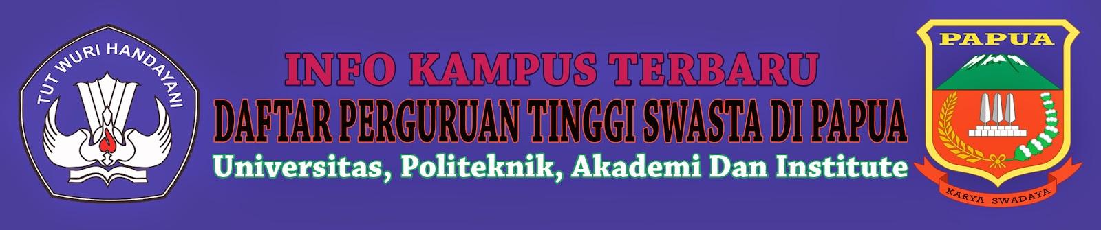 Daftar Perguruan Tinggi Swasta Di Papua