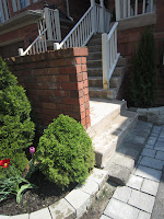 diy, home improvement, landscaping, interlocking stone, retaining wall