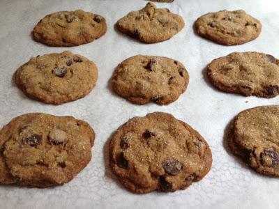 Mocha Cinnamon Chocolate Chip Cookies