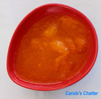 Lower sugar apricot jam by Carole's Chatter