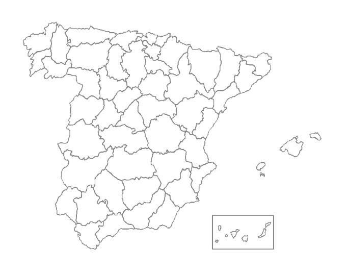 Reto Leemos España provincia a provincia
