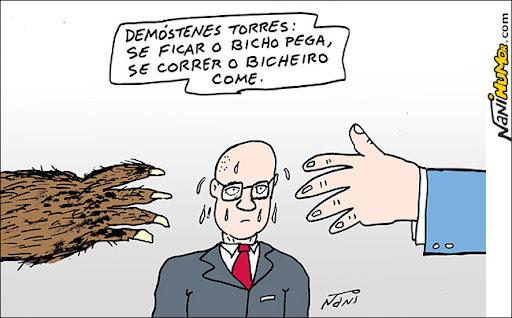 A crise envolvendo o senador Demóstenes Torres