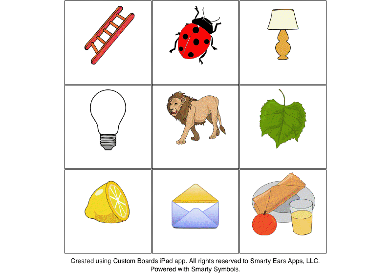 Kindergarten Words That Start With L - Scalien