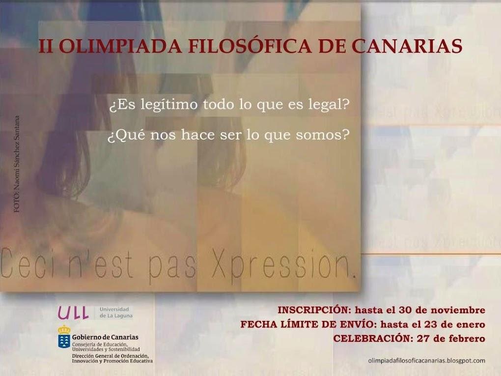 Olimpiada Filosófica de Canarias