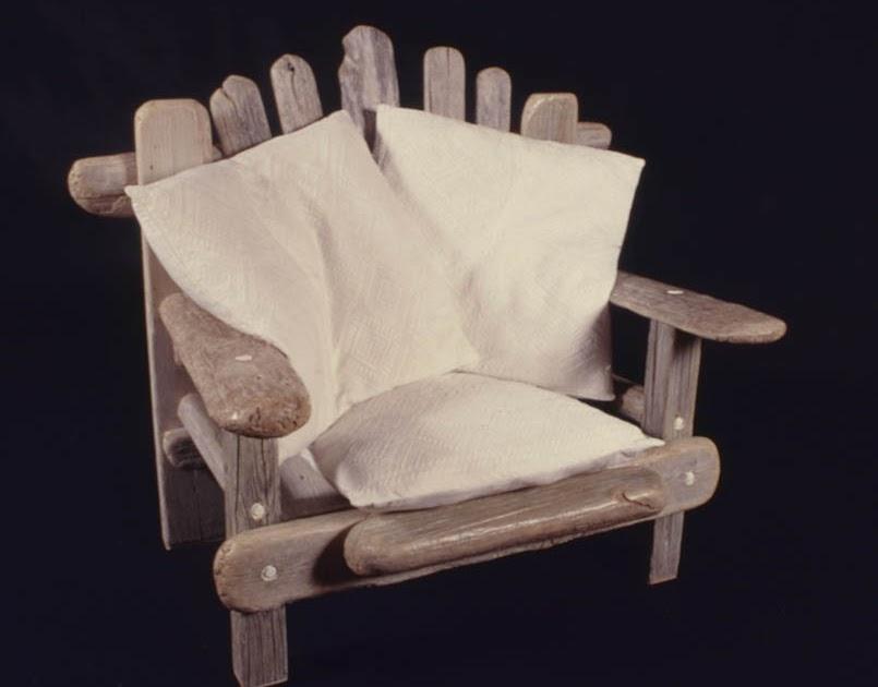 ESCAPE TO PARADISE: Driftwood Furniture by John Dahlsen