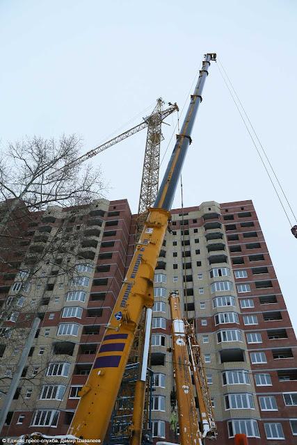 В районе проверят все башенные краны Сергиев Посад