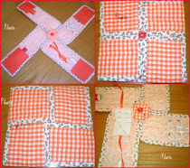 Mini costurero Patchwork + TUTORIAL