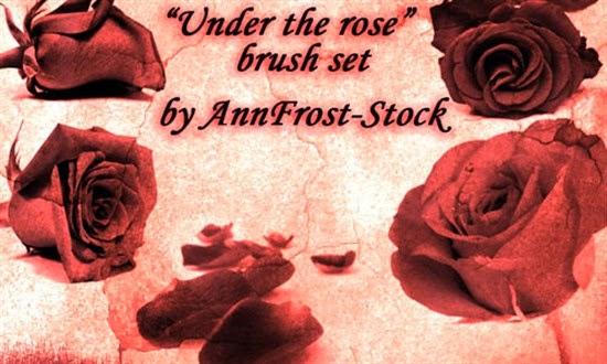 Photoshop Rose Brush