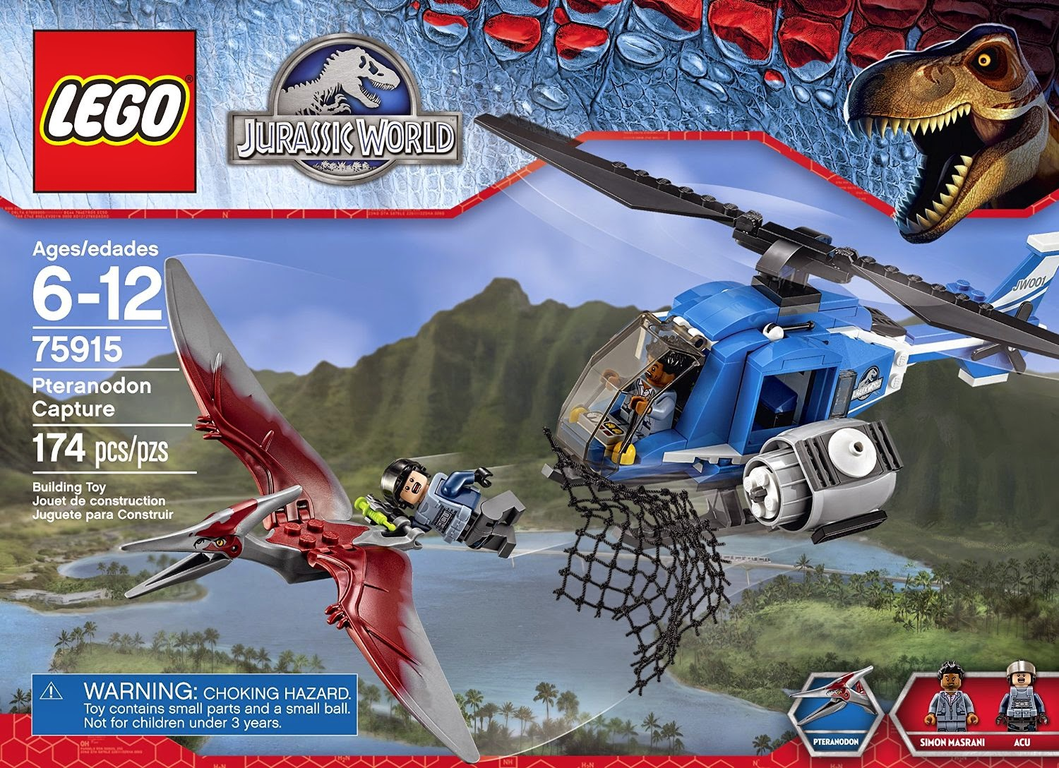 lego jurassic world how to get to jurassic park 3