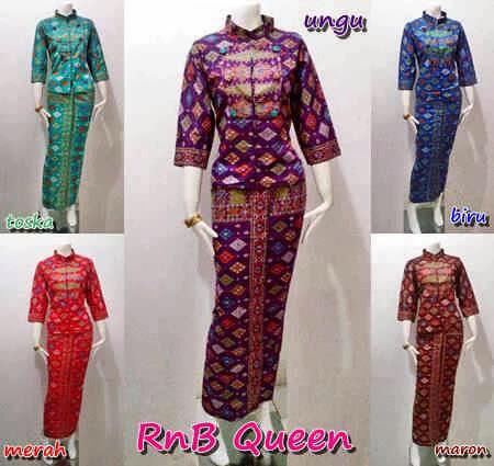 Setelan Blouse Batik Atas Bawah Seri Queen Batik Bagoes Solo
