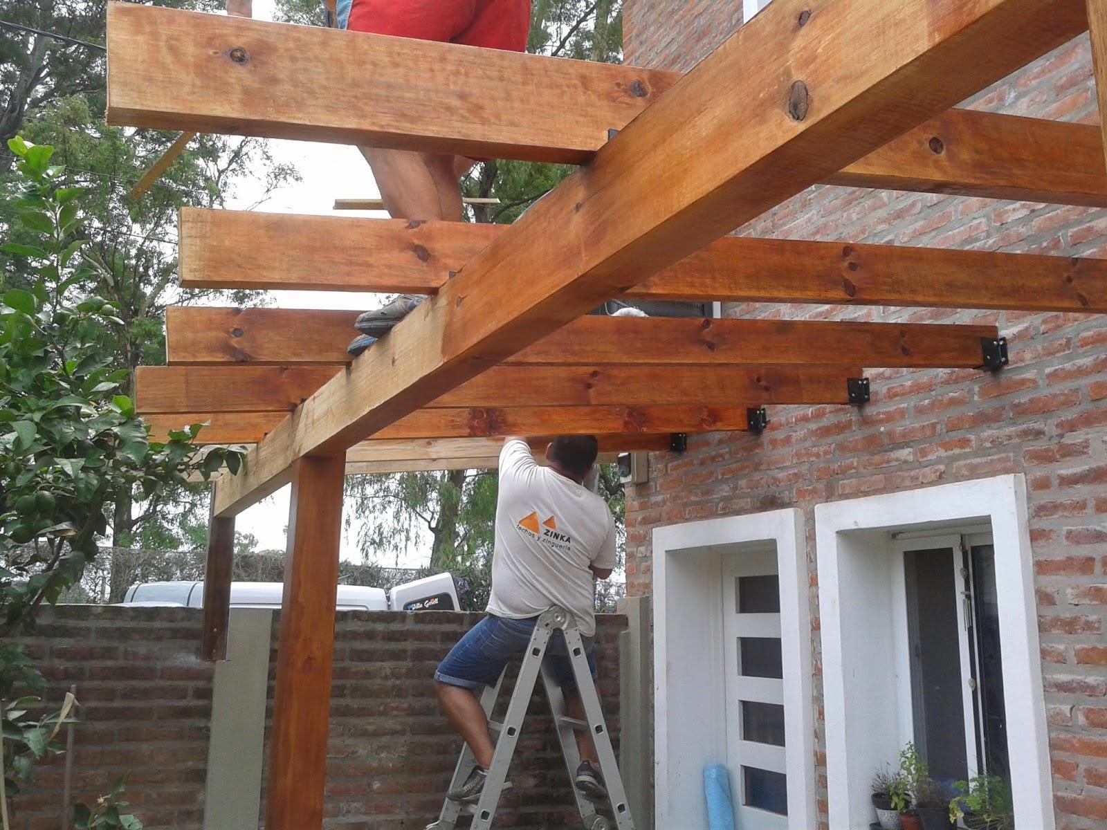 Zinka techos pergolas de madera y metalicas - Pergola de madera ...