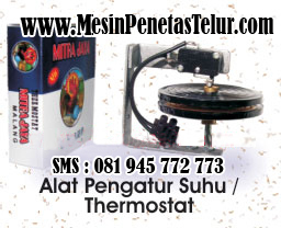 Thermostat Penetas Telur : Thermostat