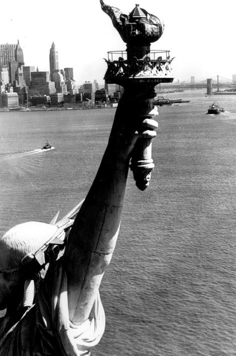 New york ville noir et blanc bartholdi eiffel libre photo image