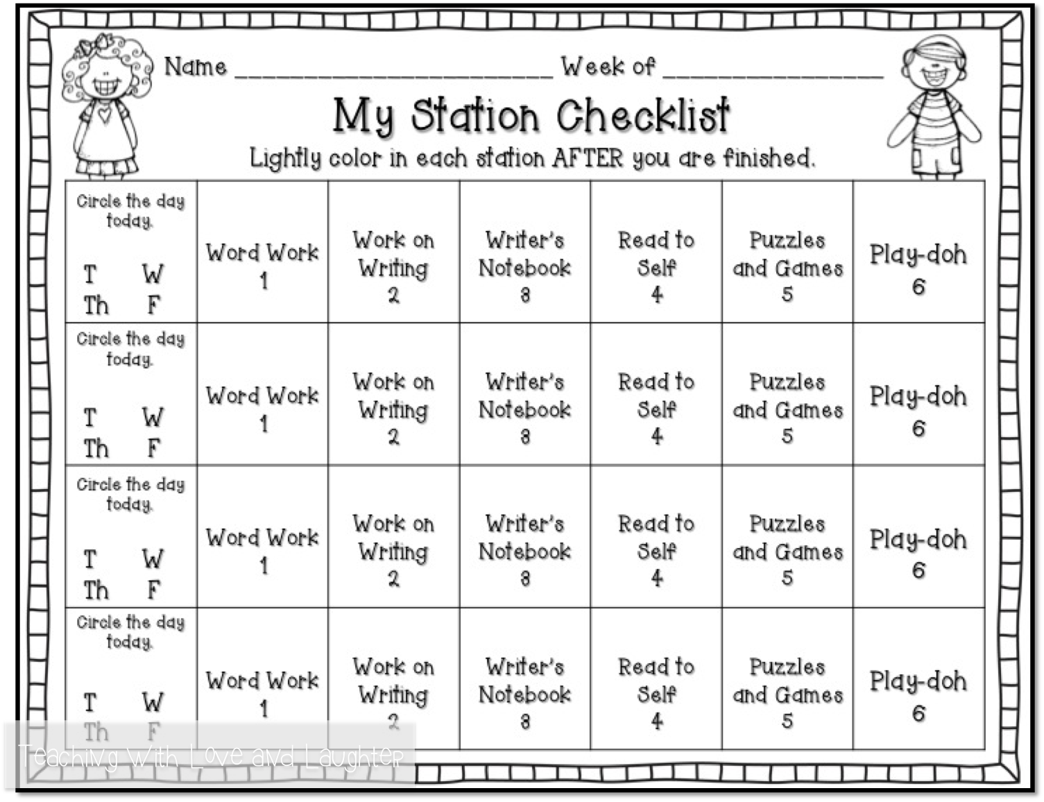 Worksheet Kindergarten Readers teaching with love and laughter my kindergarten reading block