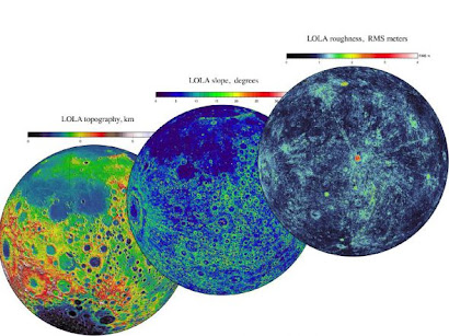LA LUNA SEGUN LA NASA