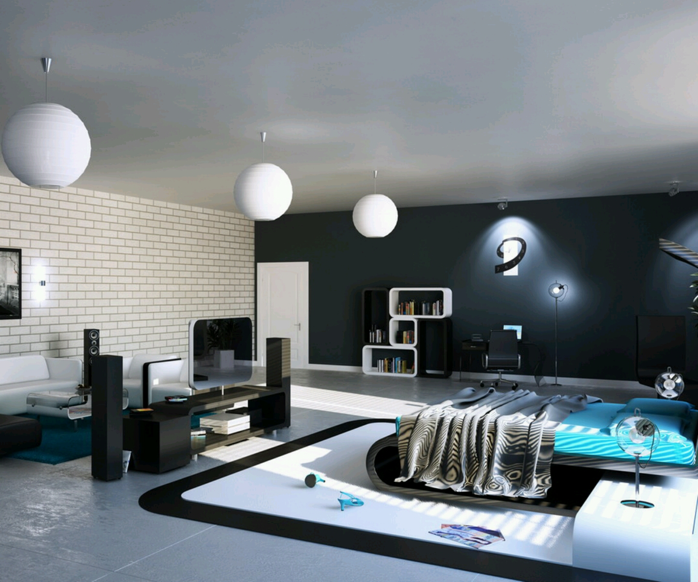 Modern Bedroom Decorations Modern Luxury Bedroom Furniture Designs Ideas.