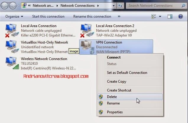 Cara Menggunakan VPN Di Windows 7 f