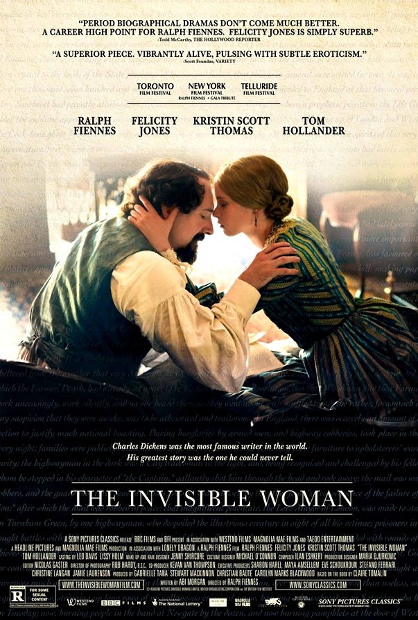 Póster de La mujer invisible, de Ralph Fiennes