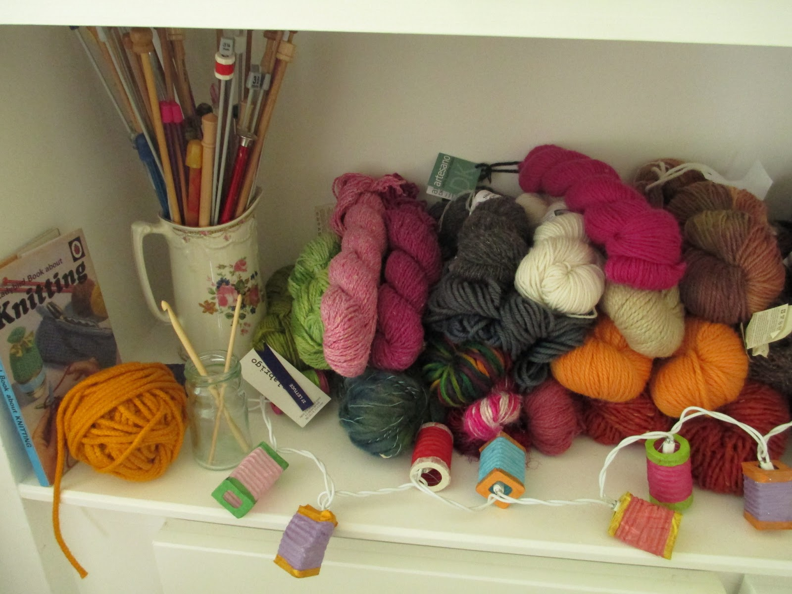 Knitting Room Suomi : Lollipop knits my dining knitting room