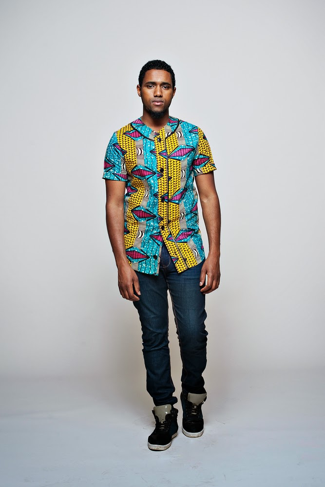 African print shirt for men. #ubuntu #clothing #ciaafrique #Africanfashion