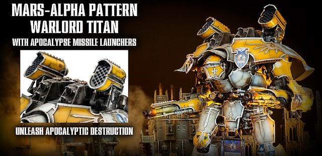 Mars-Alpha Pattern Warlord Titan Up for Pre-Orders