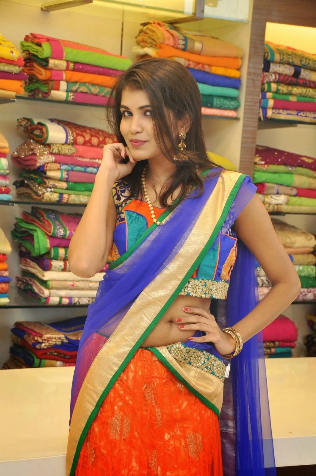 Isha half saree photos-HQ-Photo-18