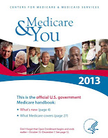 Cover of paperback book Medicare and You 2013